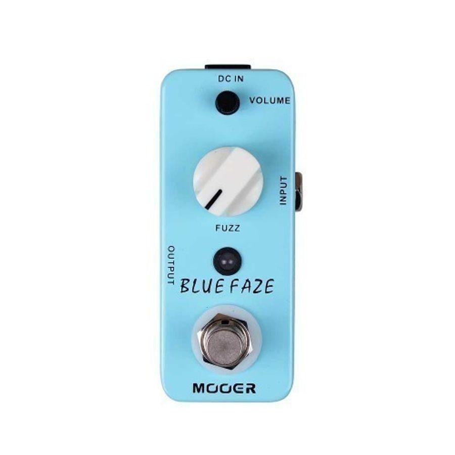 Pedal-De-Efecto-Mooer-Blue-Faze-Para-Guitarra-Vintage-Fuzz-Mfz1