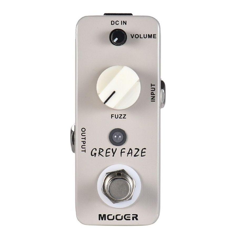 Pedal-De-Efecto-Mooer-Grey-Face-Micro-Series-Fuzz-Guitarra
