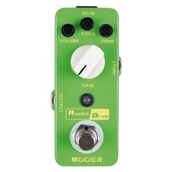 Micro-Pedal-Mooer-Efecto-Smooth-Overdrive-Rumble-Drive