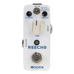 Micro-Pedal-De-Efecto-Mooer-Reecho-Delay-Para-Guitarra-Elect
