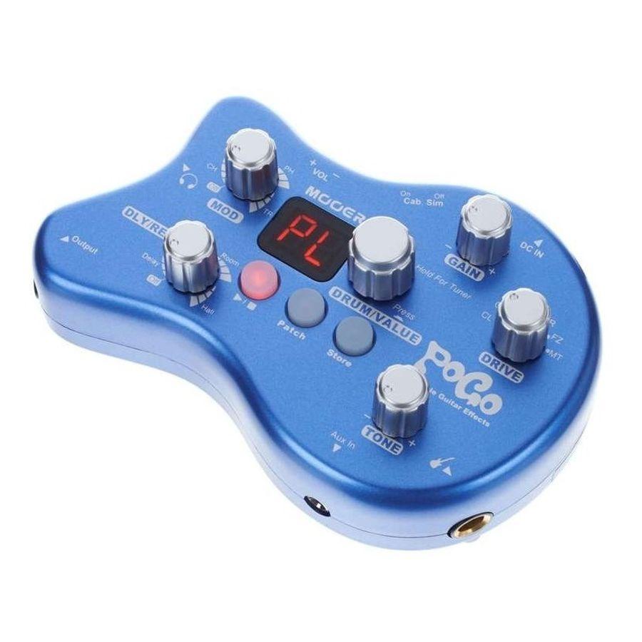 Procesador-De-Efectos-Para-Guitarra-Electrica-15-Tipos-De-Efectos--40-Ritmos-De-Bateria-Mooer-Pogo