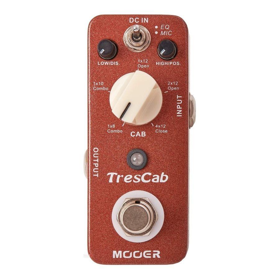 Pedal-De-Efecto-Mooer-Trescab-Guitarra-Simulador-De-Gabinete