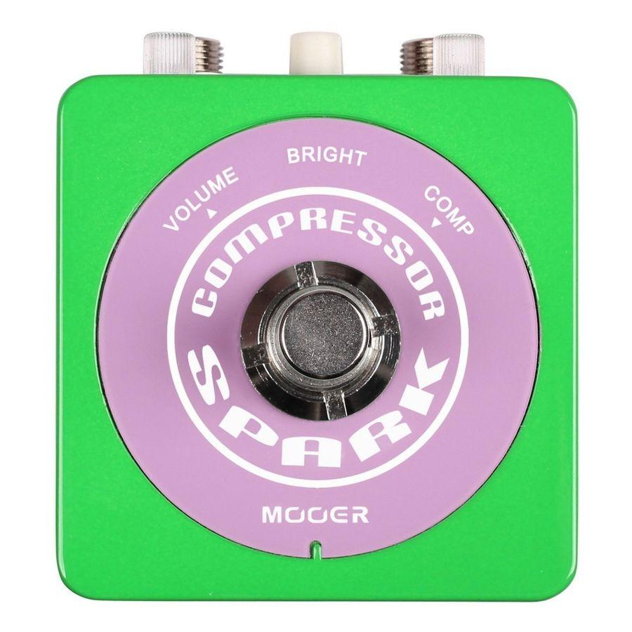 Pedal-De-Compresion-Mooer-Spark-compress-Con-True-Bypass