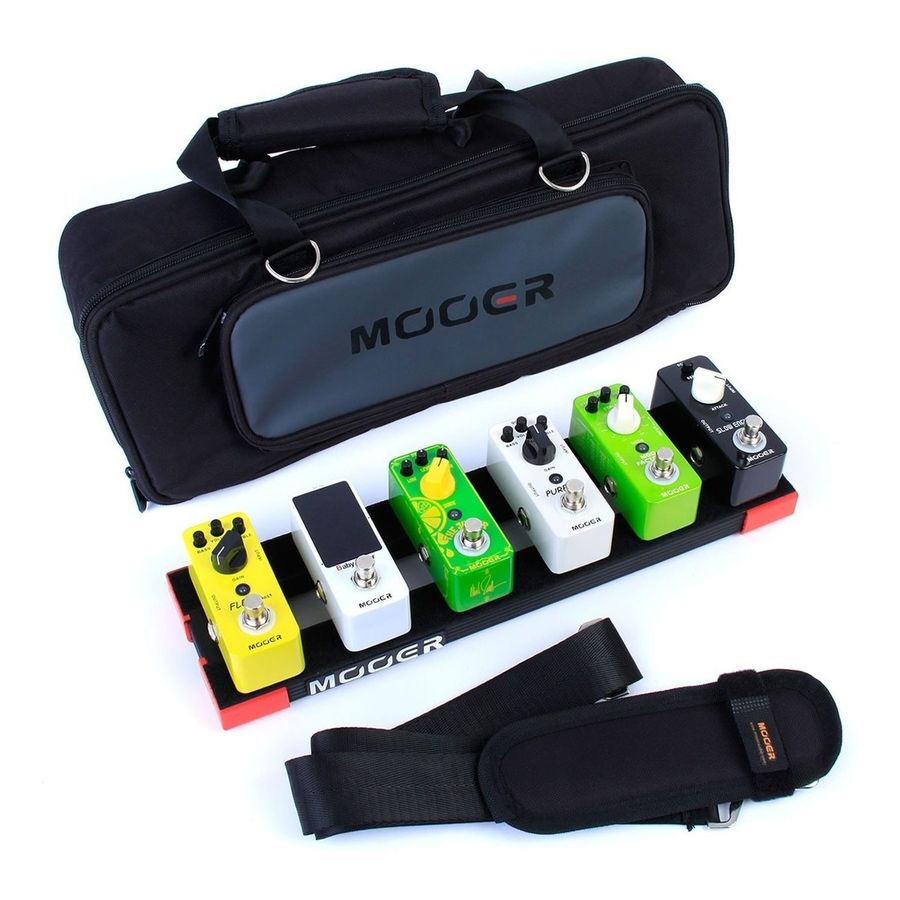 Pedalboard-Mooer-Para-5-Micro-Pedales-Mooer-Stomplate-mini