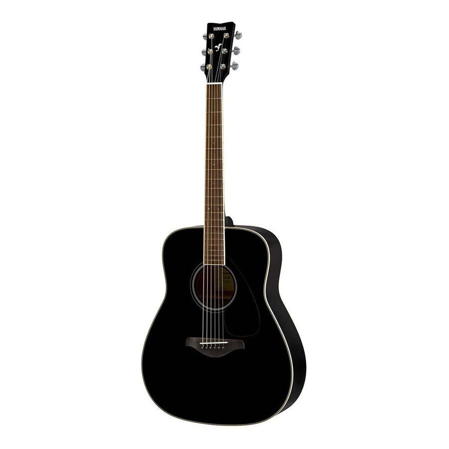 Guitarra-Acustica-Yamaha-Fg820bl-Solid-Top-Negra