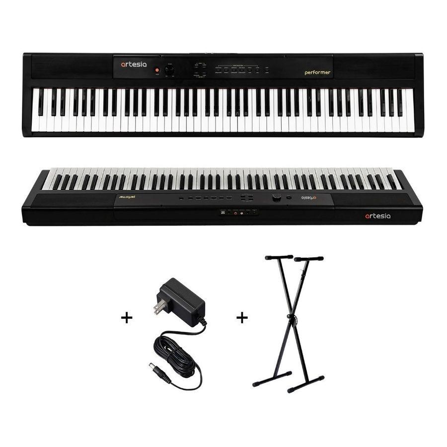 Piano-88-Teclas-Sensitivo-Artesia-Performer---Fuente-Soporte