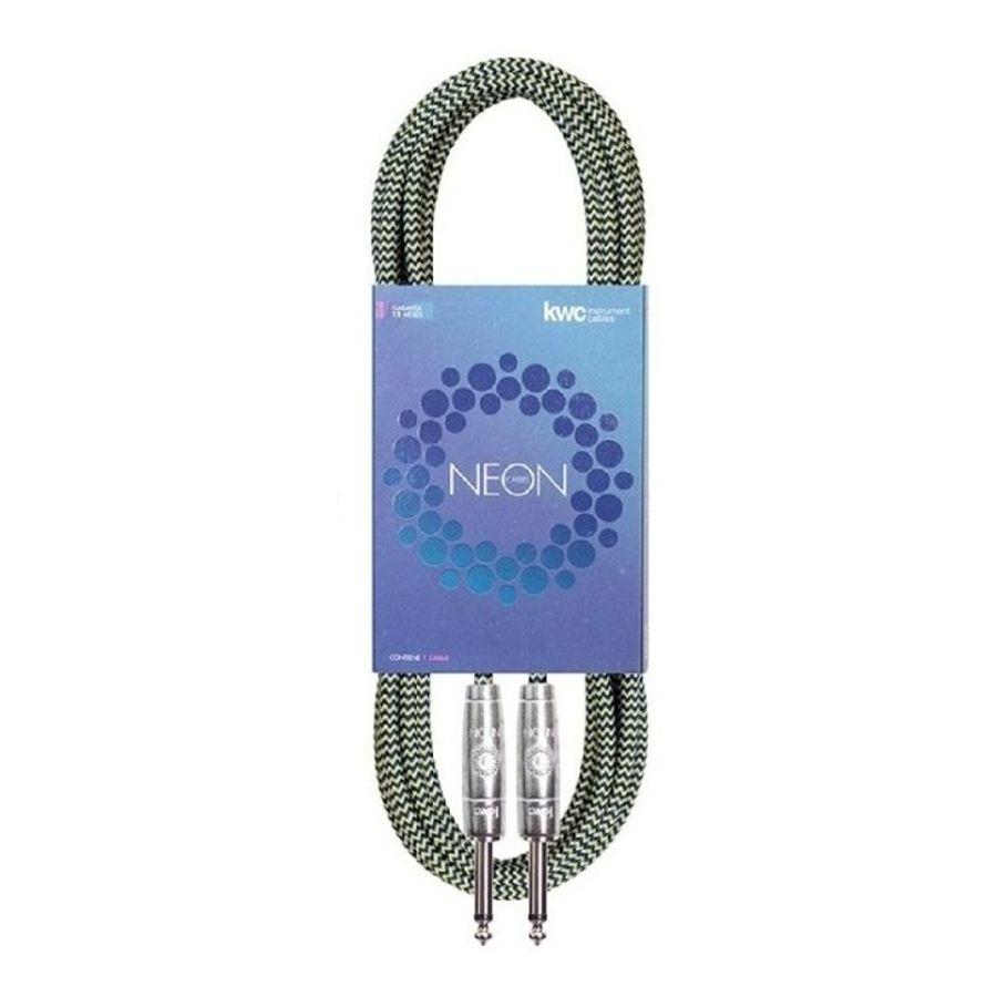 Cable-Plug---Plug-Neon-1-4-De-Pulgada-Mallado-De-3-Mts