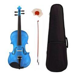 Violin-Stradella-Mv141144-De-Medida-4-4-Con-Estuche-Semi-Rigido-Arco-Y-Resina-Madera-De-Pino-Y-Maple-Ideal-Para-Estudio