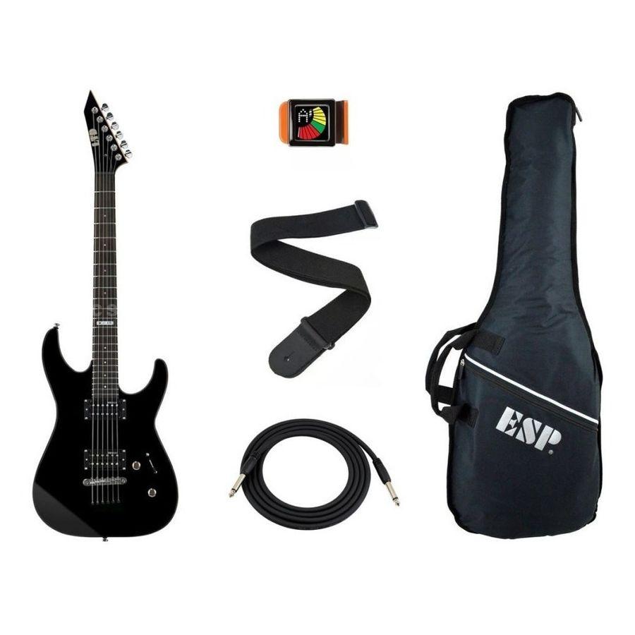 Combo-Ltd-Esp-Guitarra-Electrica-M10---Funda---Accesorios