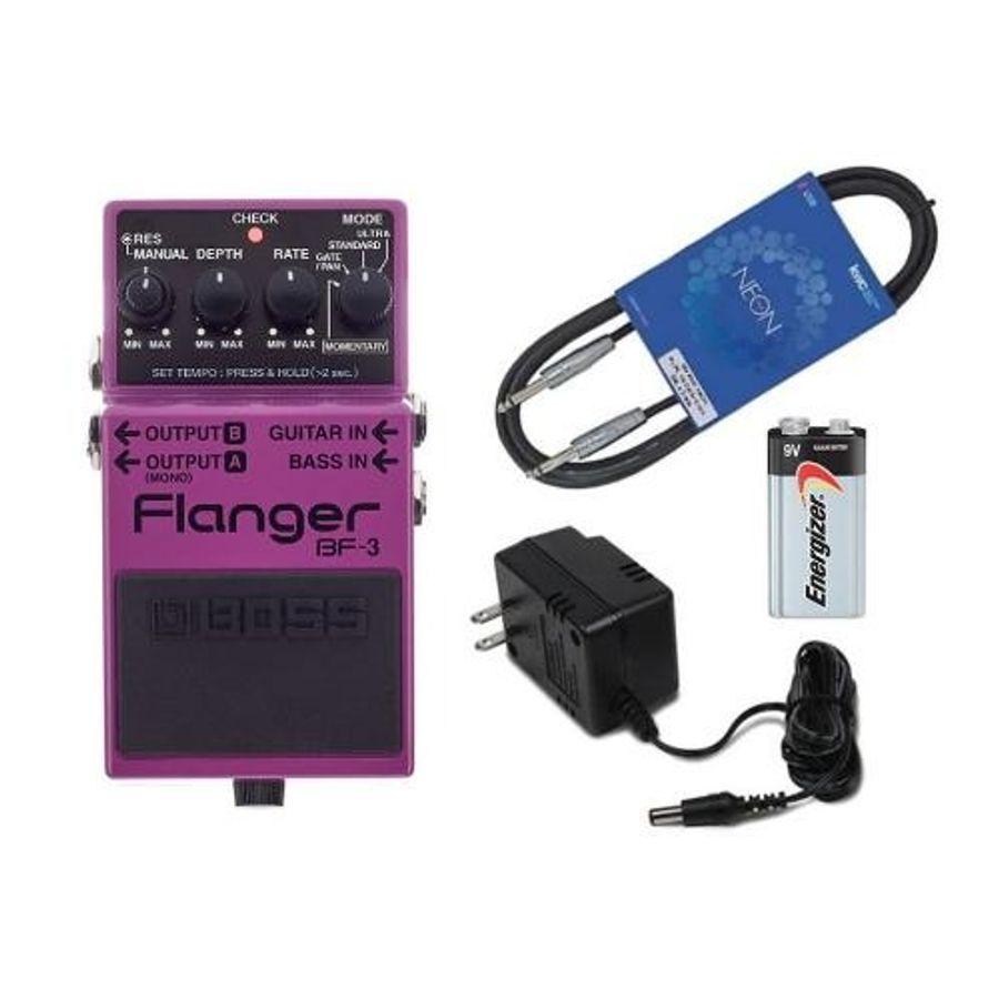 Pedal-Para-Guitarra-Electrica-Boss-Flanger-Bf-3---Fuente