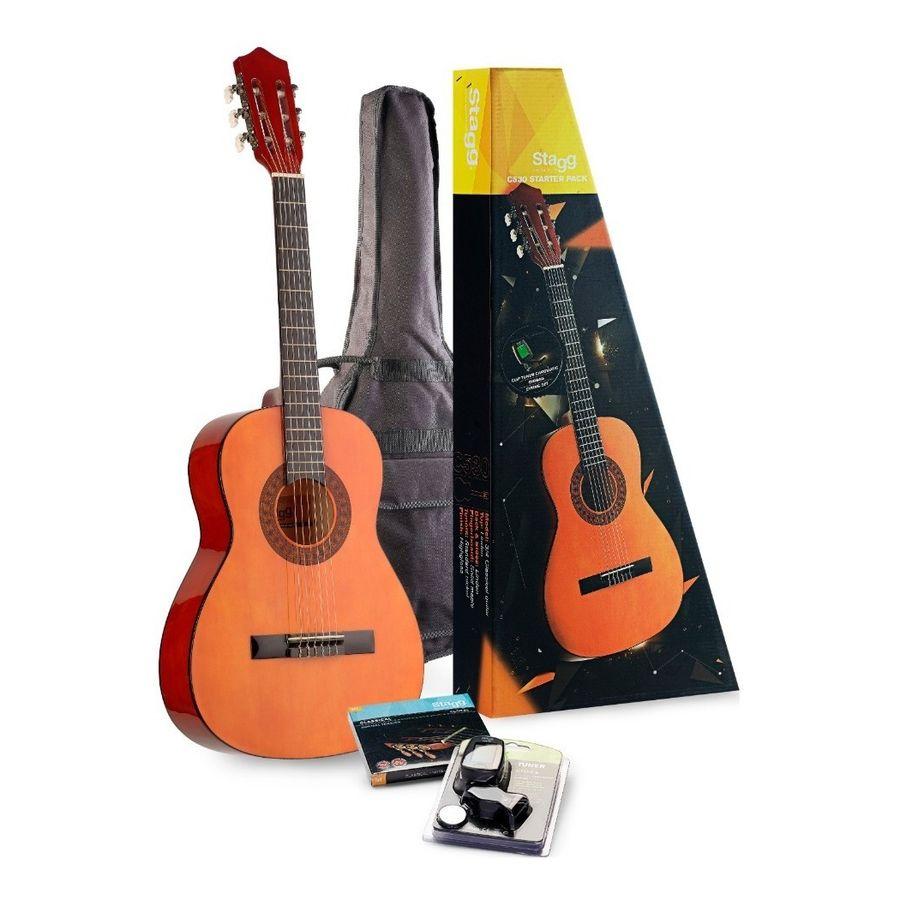 Combo-Guitarra-Clasica-Criolla-Stagg-C530-3-4-Afinador-Funda