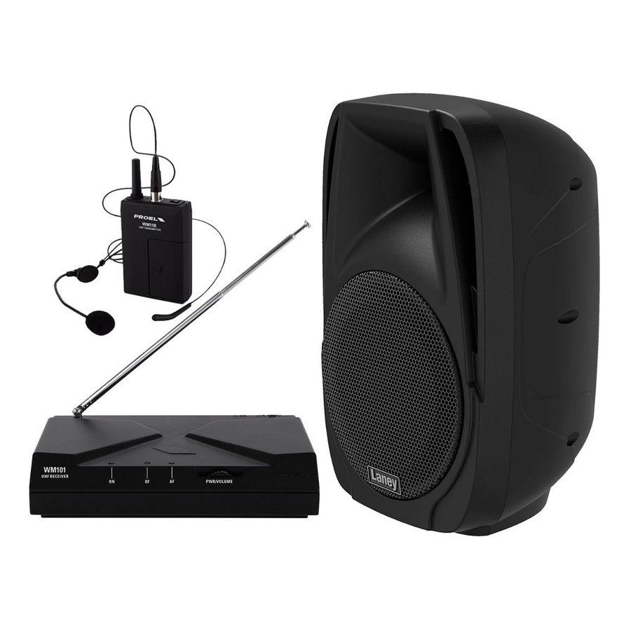 Parlante-Activo-Usb-Bafle-Bluetooth---Microfono-Karaoke-Gym