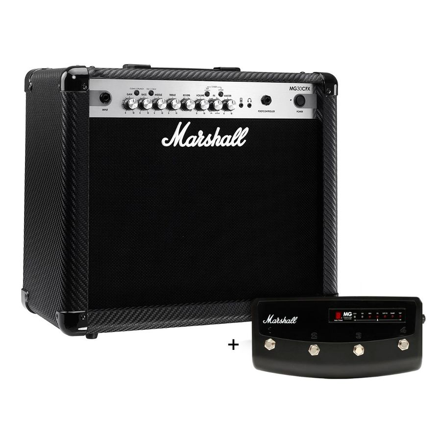Combo-Amplificador-Guitarra-Marshall-Mg-30-Cfx---Footswitch