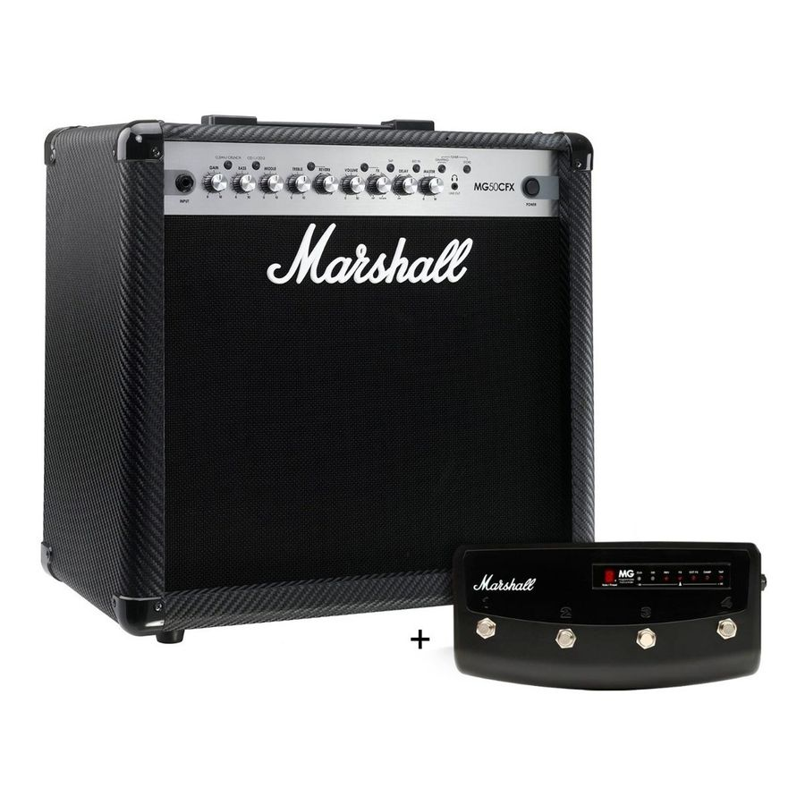 Combo-Amplificador-Guitarra-Marshall-Mg-50-Cfx---Footswitch
