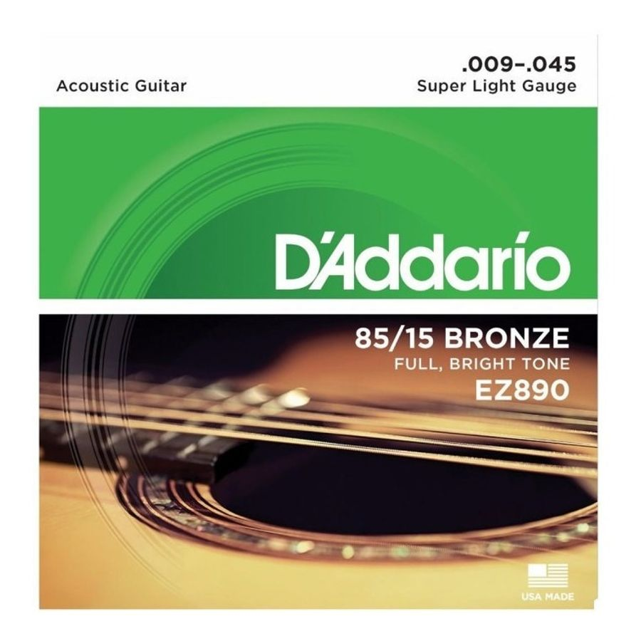 Encordado-Para-Guitarra-Acustica-Ez890-Super-Light-Calibres-009---045-De-Bronce-85-15-Tension-Media-Con-Sonido-Natural