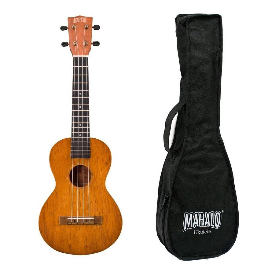 Ukelele-Tamaño-Concierto-Mahalo-Mh2-Acabado-Natural---Funda