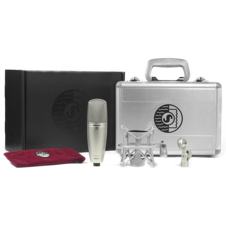 Microfono-Condensador-Shure-Ksm44a-Multipatron--estuche-base