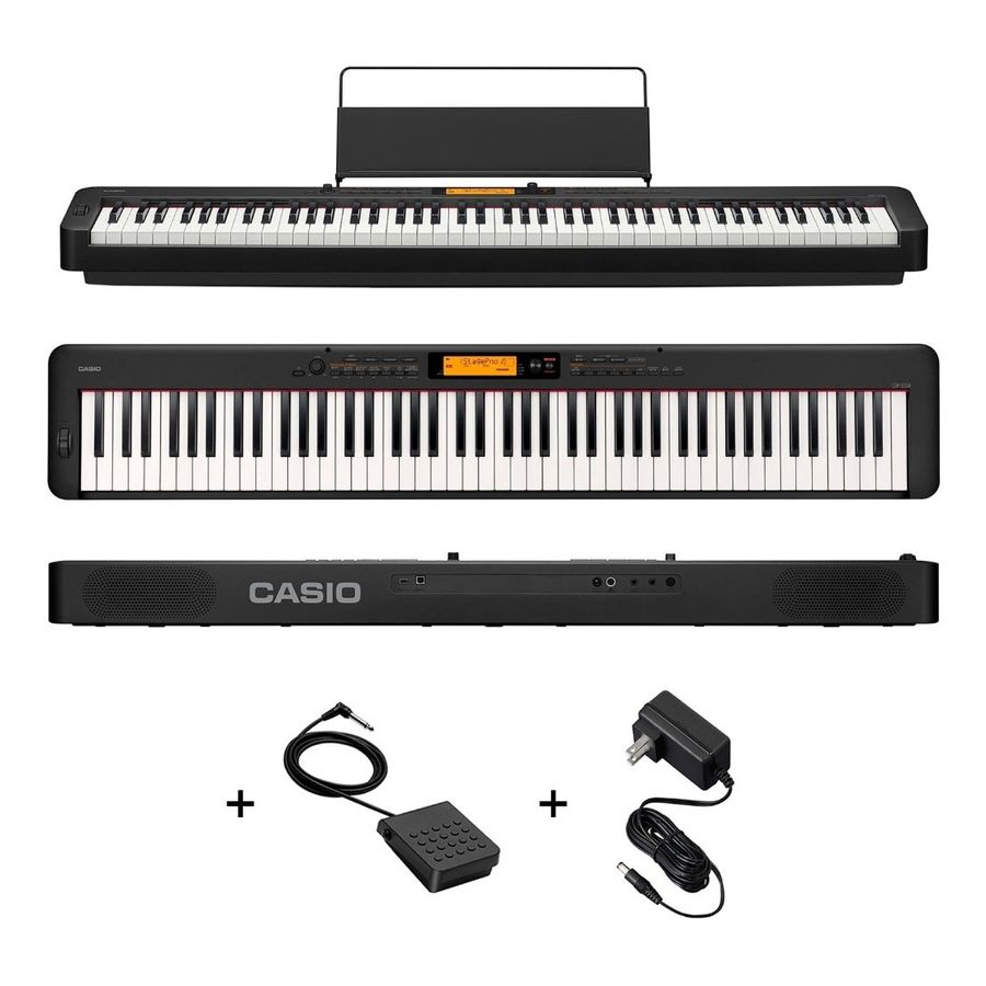 Piano-Digital-Casio-Cdp-s350bk-88-Teclas-Sensitivo---Fuente