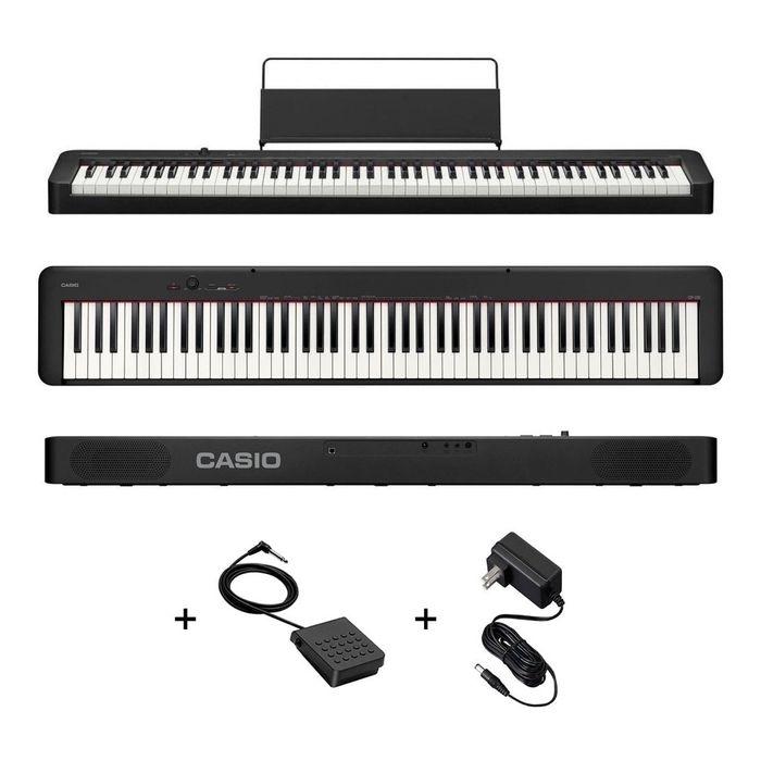 Piano-Digital-Casio-Cdp-s100bk-88-Teclas-Sensitivo---Fuente