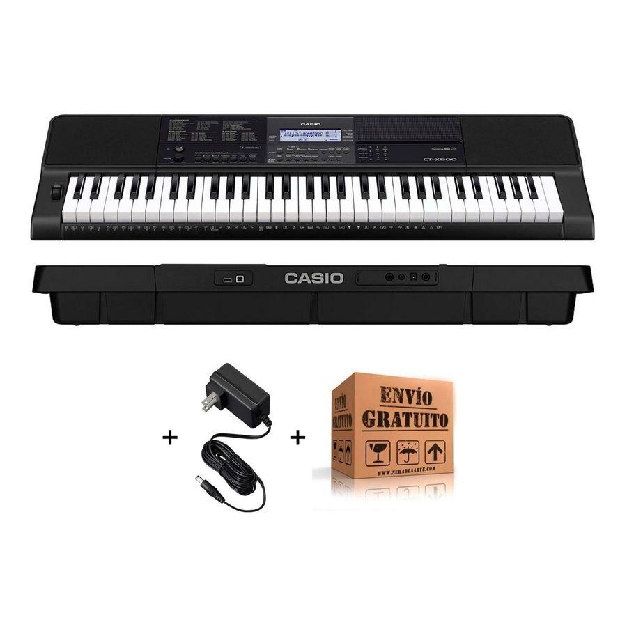 Teclado-Casio-Organo-Ct-x800-Sensitivo---Fuente---Envio