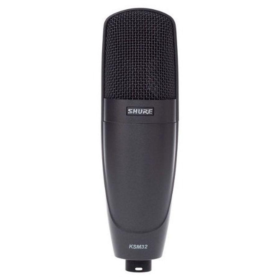 Microfono--Shure-Skm32-Condenser-Diaframa-Grande-C--Soporte