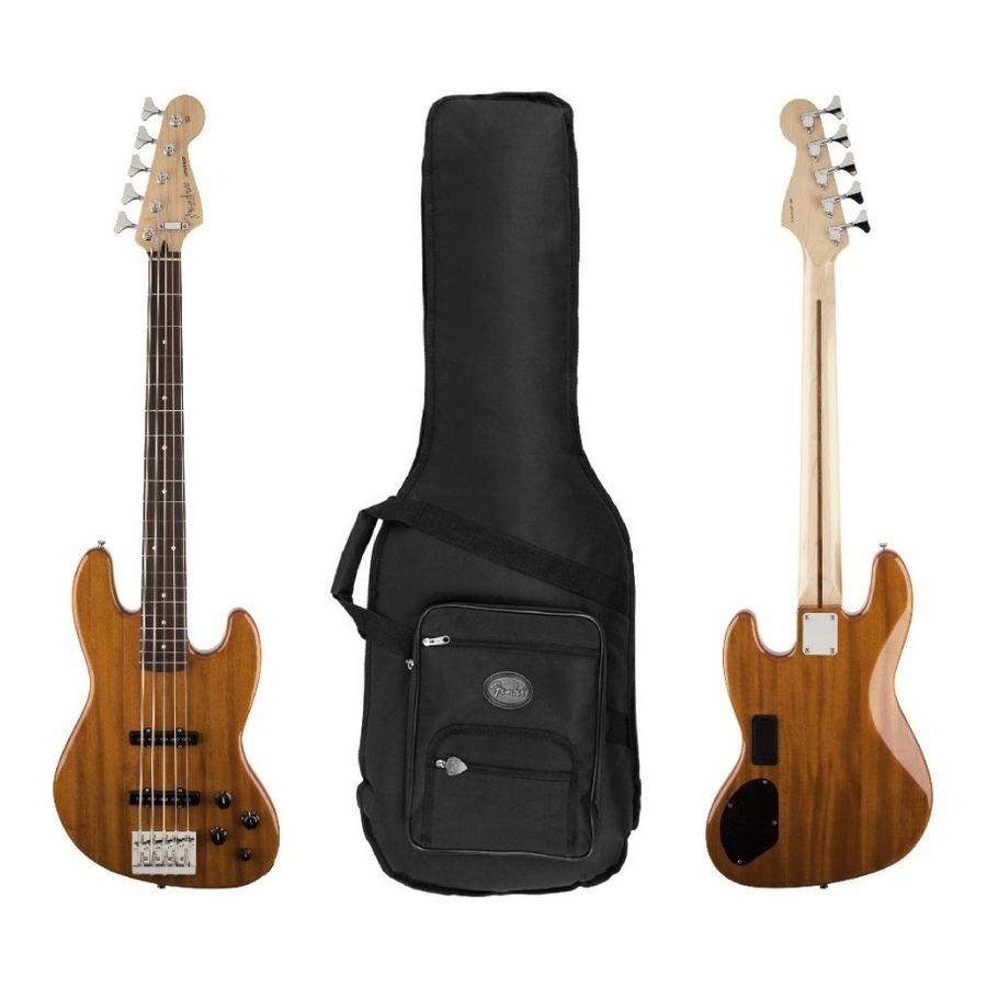 Bajo-Elect-Fender-Jazz-Bass-Deluxe-Activo-5-Cuerdas---Funda