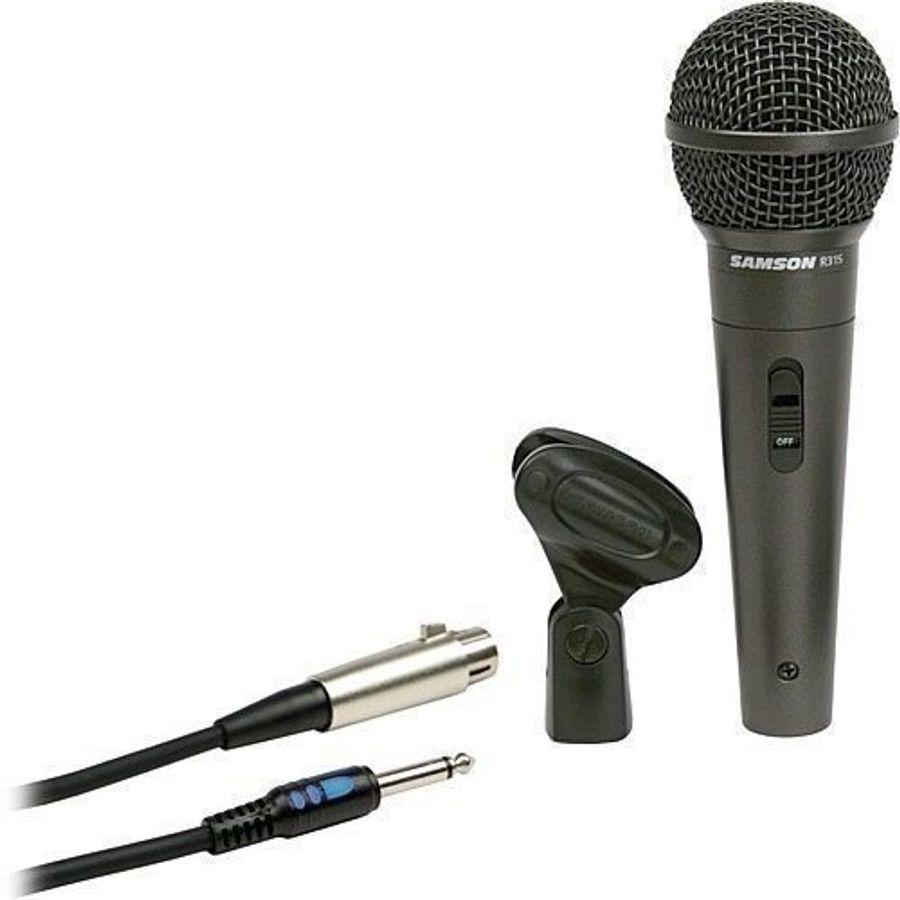 Microfono-Samson-Perform-De-Mano-Vocal-R31s---Cable---Pipeta