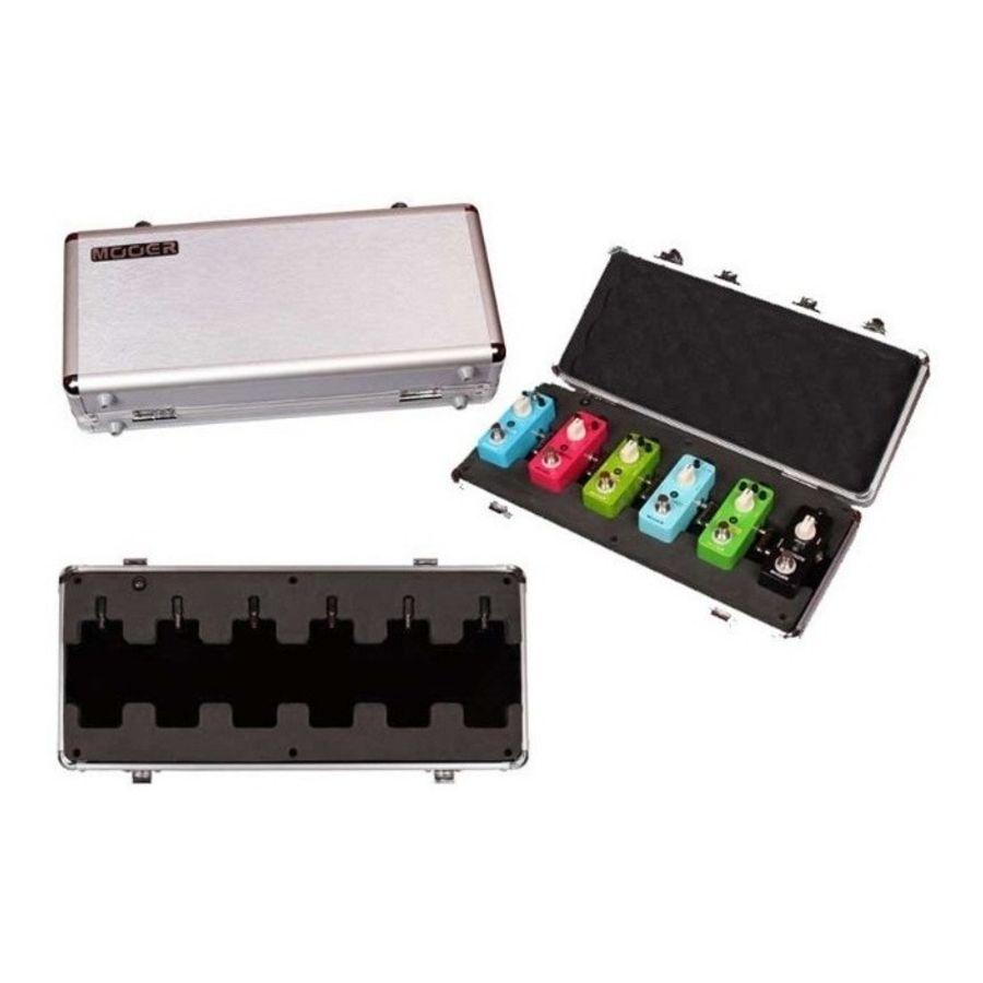 Estuche-Rigido-De-Aluminio-Mooer-P--6-Micro-Pedales-Firefly
