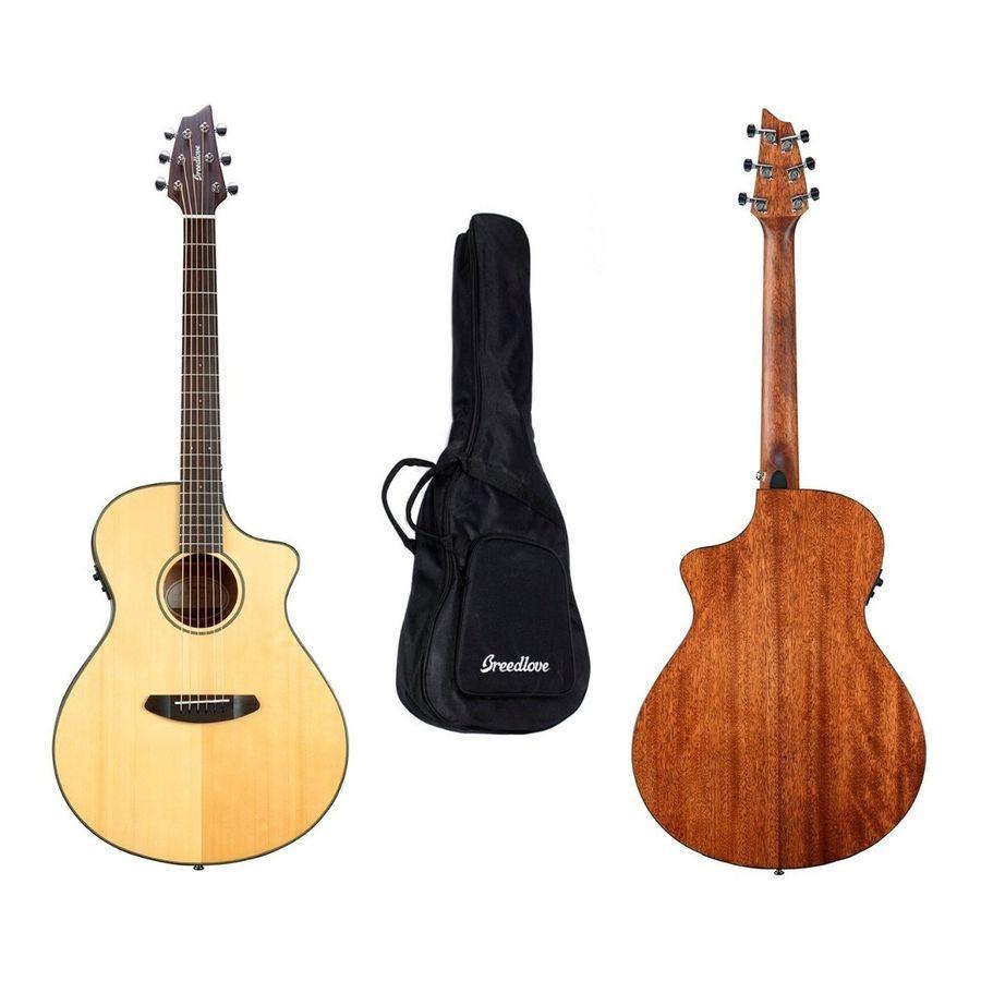 Guitarra-Electrocustica-Breedlove-Dsc21ce---Funda-Original