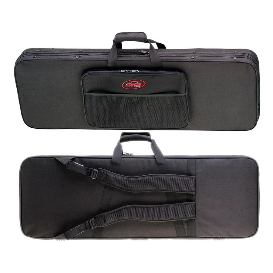 Skb-Estuche-Semi-Rigido-1skb-sc66-Para-Guitarra-Stratocaster-telecaster-jackson-Entre-Otras-Bolsillo-Para-Accesorios