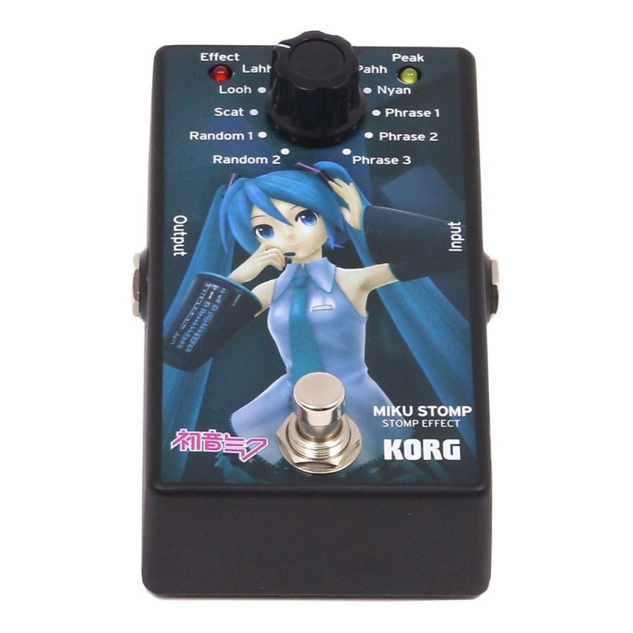 Pedal-Korg-Miku-Stomp-De-Efectos-Emulador-De-Voz-P--Guitarra