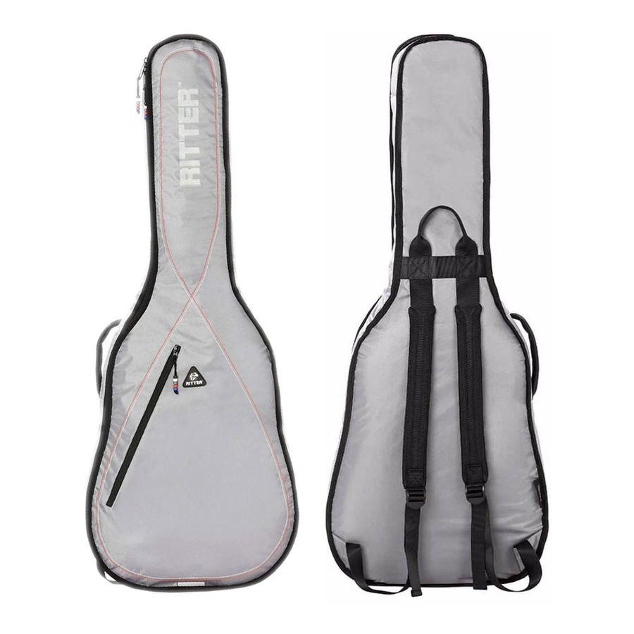 Funda-Ritter-Guitarra-Clasica-1-2-Rgp2-ch-srw-Acolchado-10mm