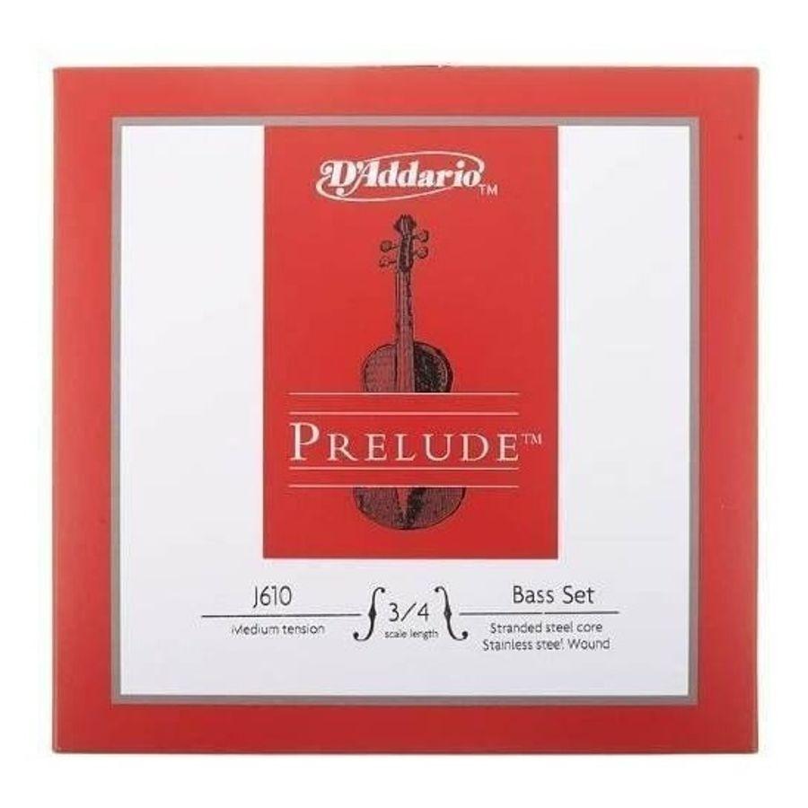 Encordado-Contrabajo-Daddario-3-4-Prelude-Bass-Set-Ten-Media