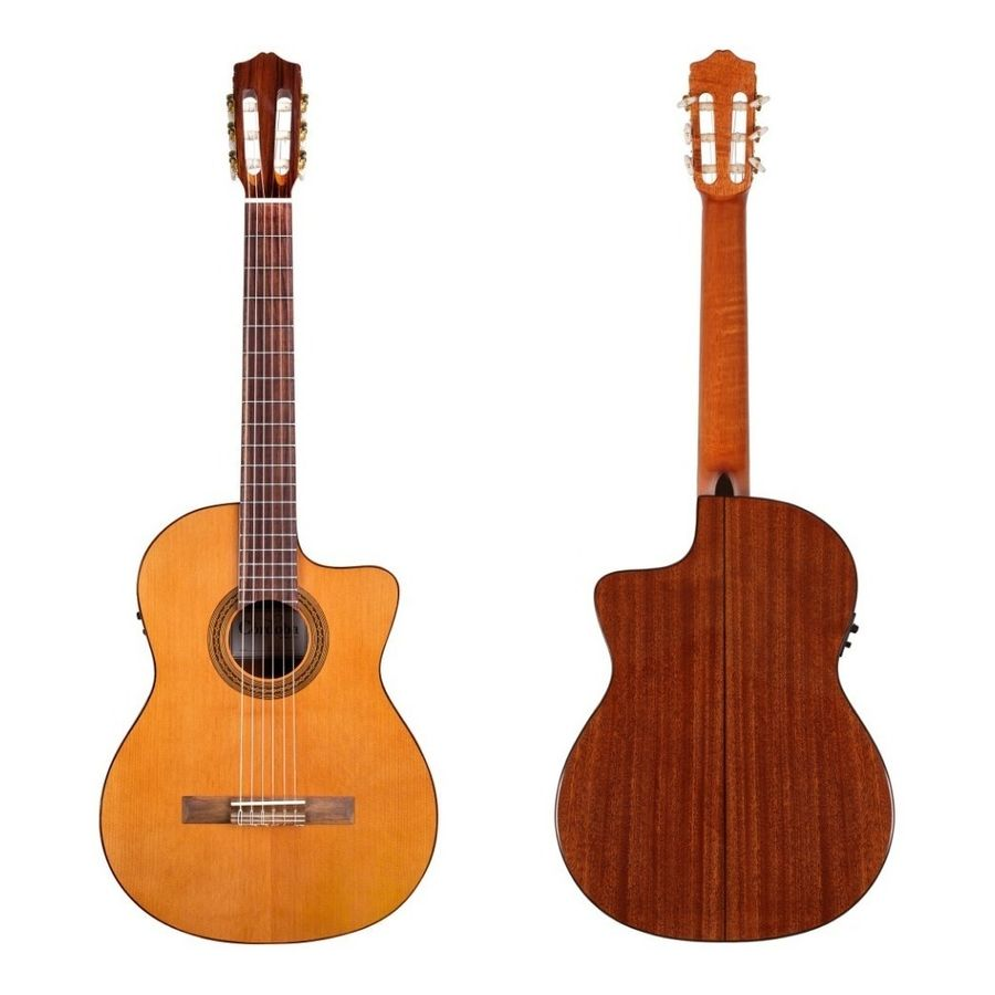 Guitarra-Clasica-Cordoba-Tapa-Solida-C--Corte-Fishman--C5-ce