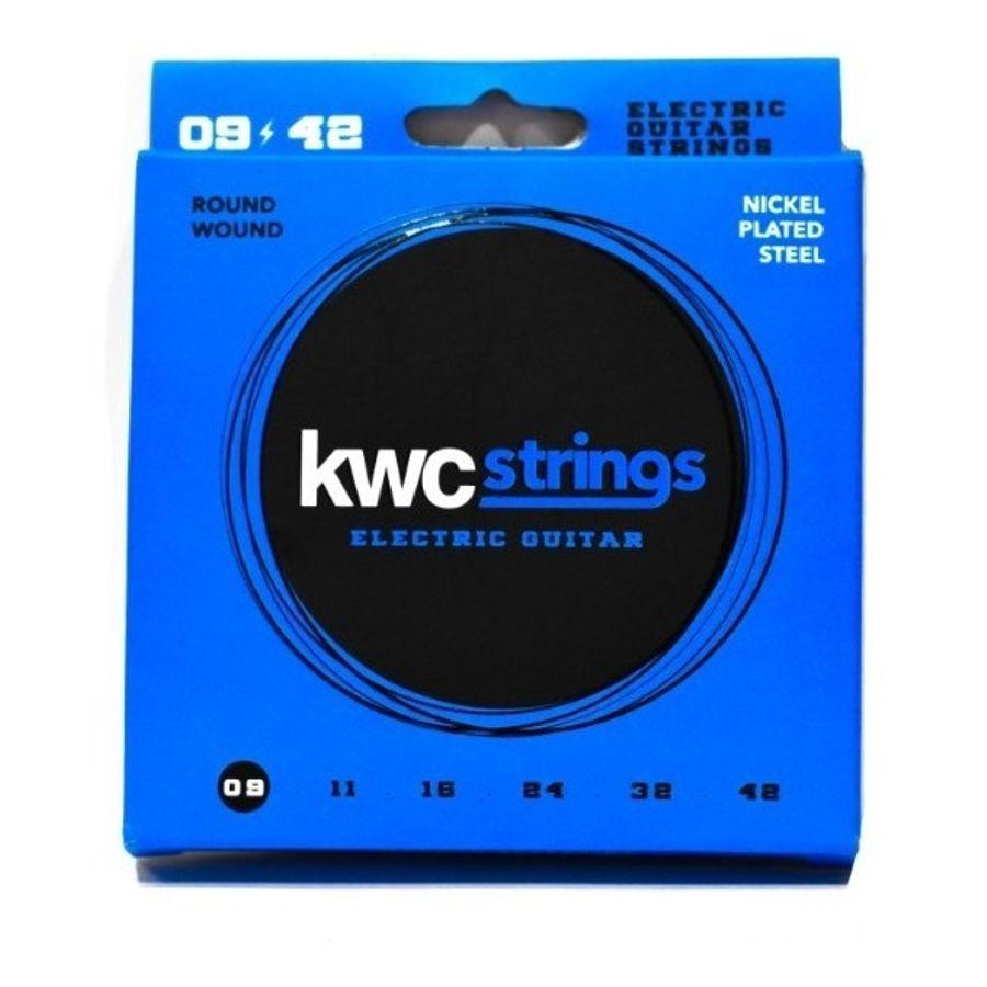 Cuerdas-De-Guitarra-Electrica-Kwc-09-42-Acero