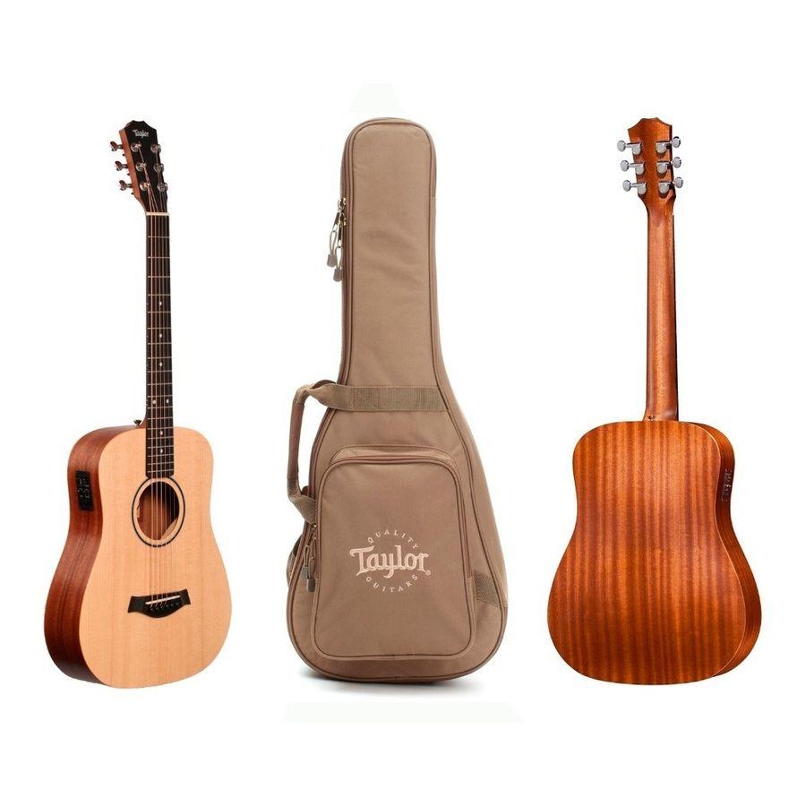 Guitarra-Electro-Acustica-De-Viaje-Taylor-Bt1-E---Funda
