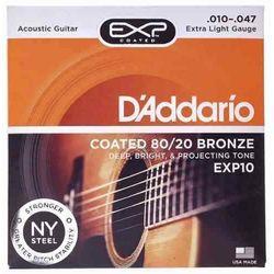Encordado-Acustica-Daddario-Exp10-Bronce-80-20-.010