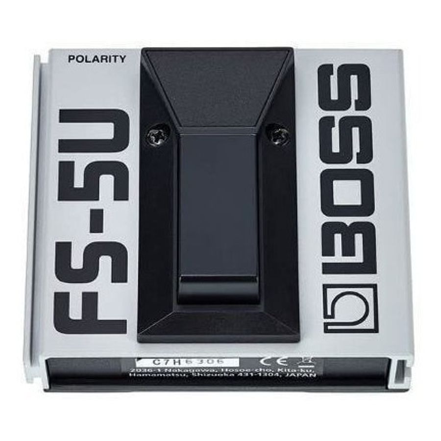 Pedal-Foot-Boss-Fs5u-Switch-Mementary-Para-Guitarra---Bajos---Teclados