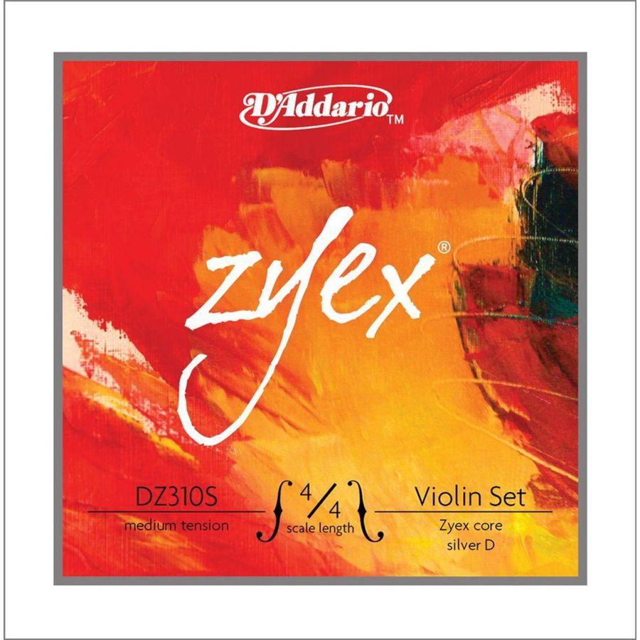Encordado-Para-Violin-4-4-Daddario-Zyex-Re-Entorcha-En-Plata-Tension-Media-Med