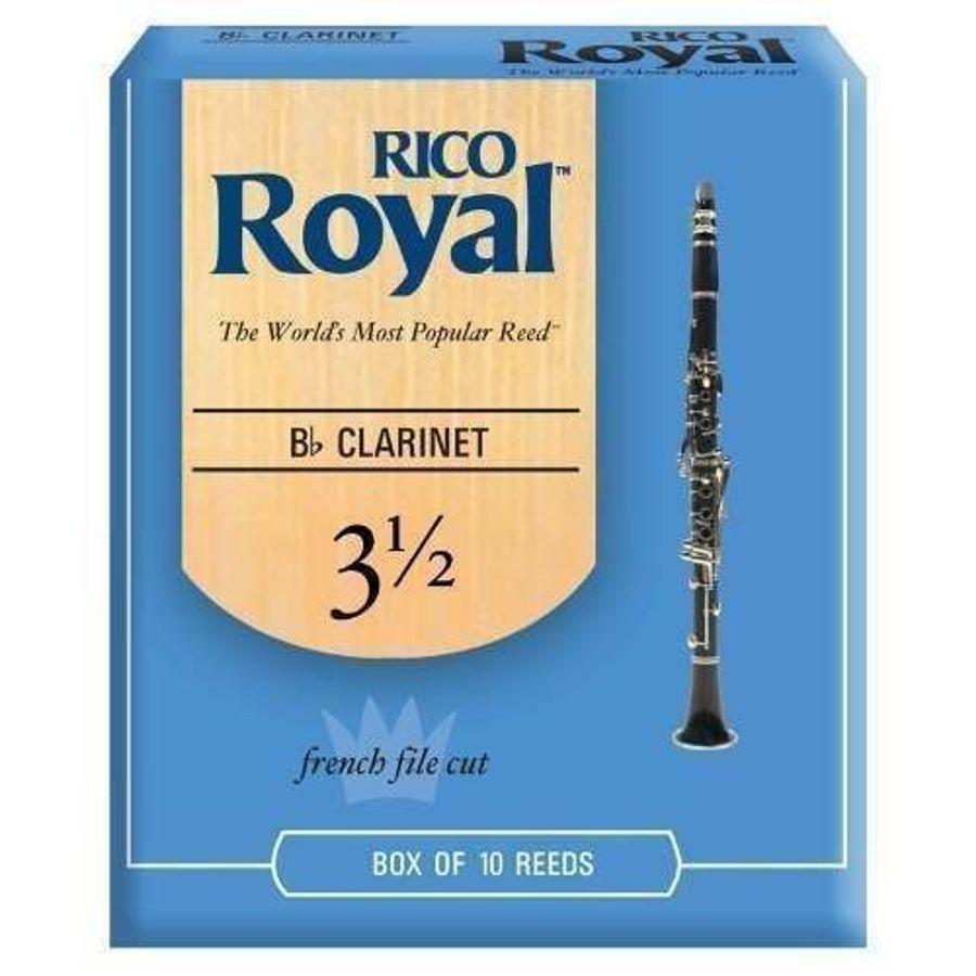 Cañas-Para-Clarinete-Rico-Royal--Numero-3-Y-1-2-Daddario