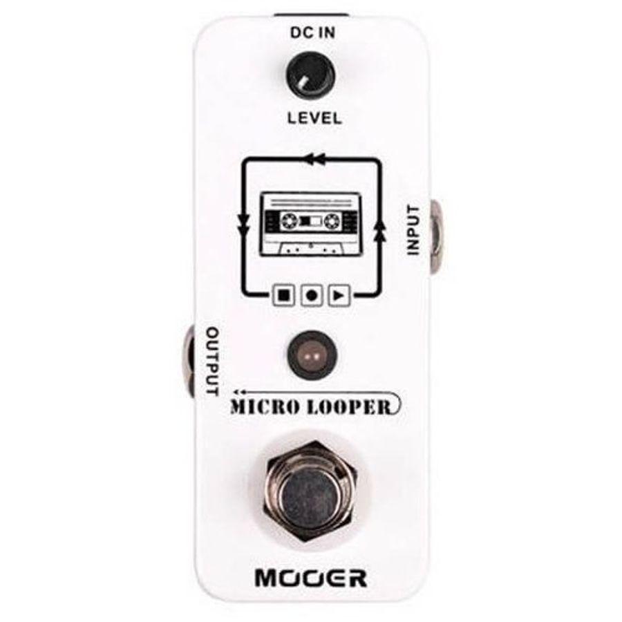 Pedal-Mooer-Looper-P--Guitarra-Graba-Reproduce-Micro-looper