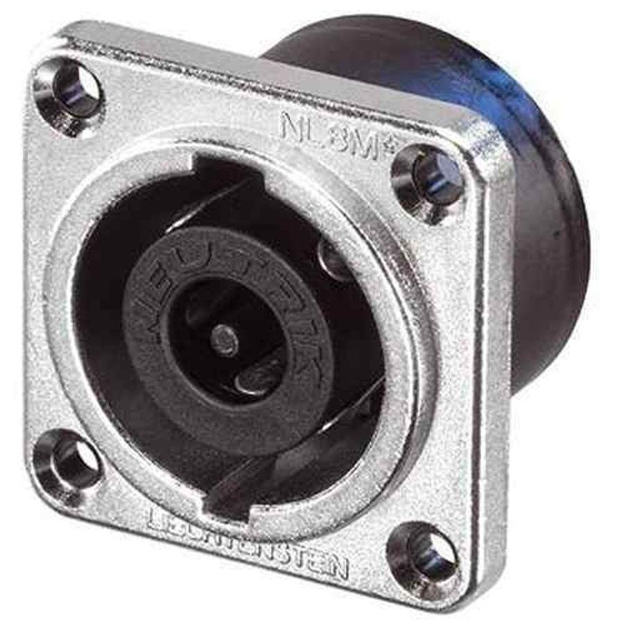 Conector-Speakon-8-Neutrik-Nl8mpr-Contactos-Macho-P--Chasis