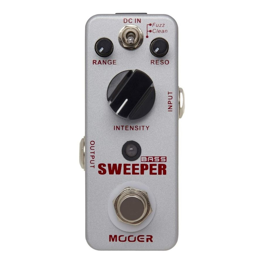 Micro-Pedal-Mooer-Clean-fuzz-Sweeper-De-Efecto-Para-Bajo