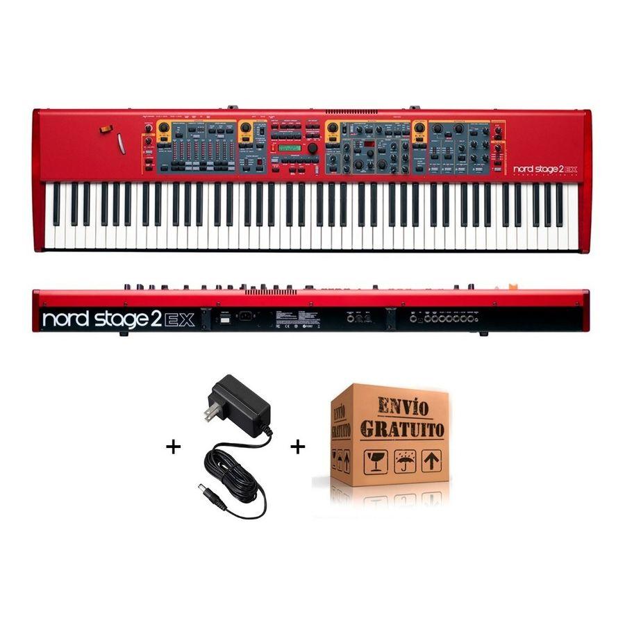 Piano-Escenario-Nord-Stage-2-Ex-88-Teclas---Fuente---Envio