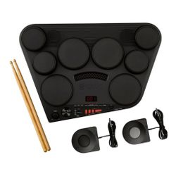 Bateria-Electronica-Yamaha-Dd75-8-Pads---Pedales-Y-Palillos