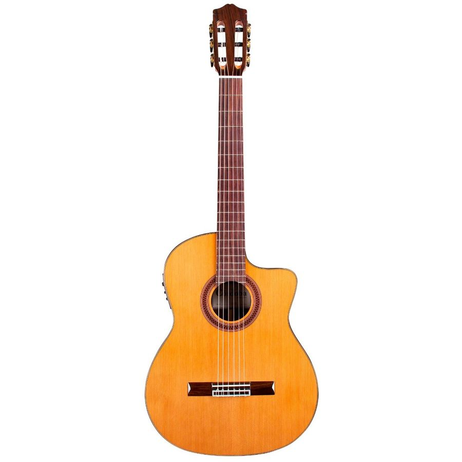 Guitarra-Clasica-Cordoba-Tapa-Solida-C--Corte-Fishman--C7-ce