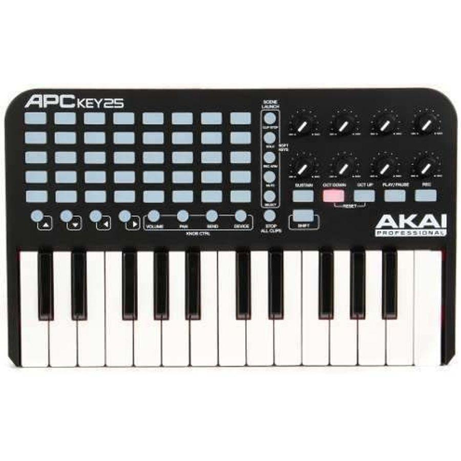 Controlador-Midi-Akai-Professional-Apc-K25-P--Ableton-Live