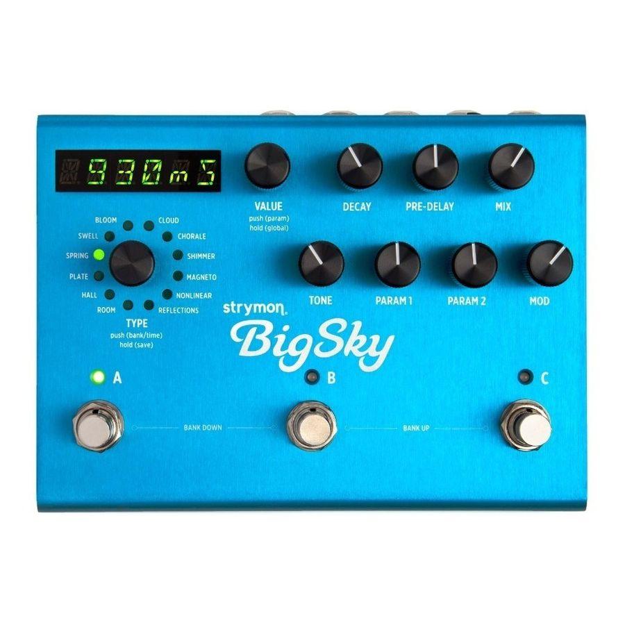Pedal-De-Efecto-Strymon-Big-Sky-Reverb-P--Guitarra-Electrica