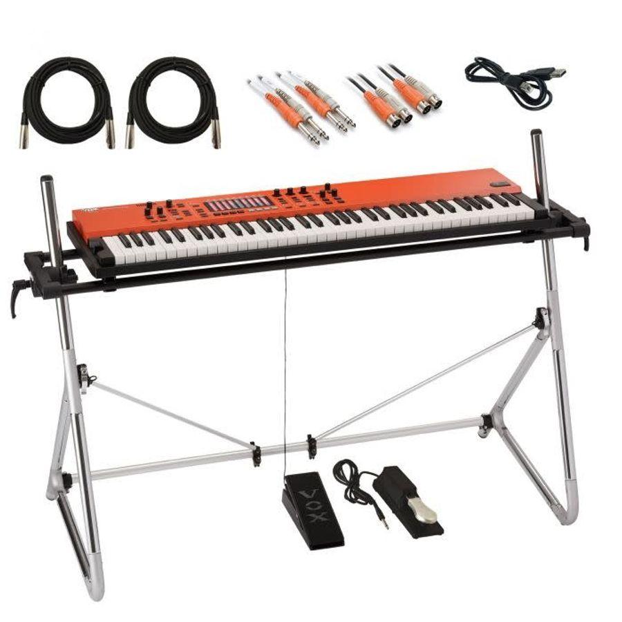 Organo-Piano-Teclado-Escenario-Vox-Continental-73---Soporte