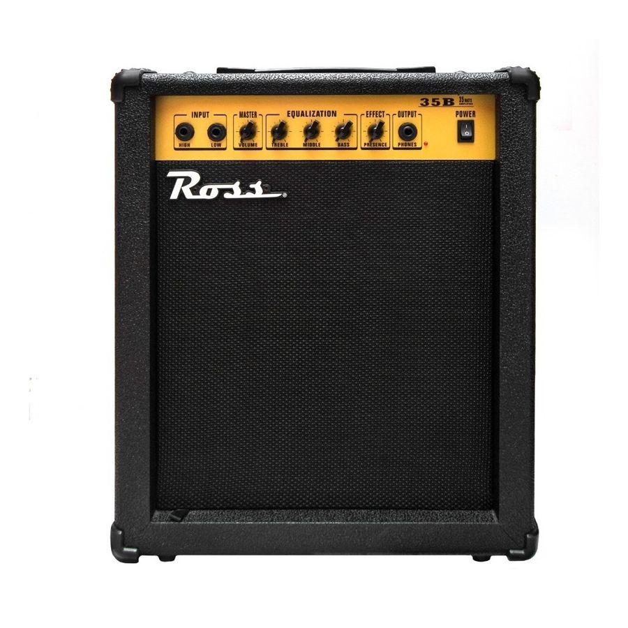 Amplificador-Para-Bajo-Electrico-Ross-B-35-De-35-Watts---B35